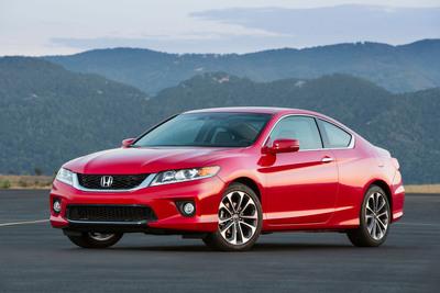 The 2013 Honda Accord Coupe.  (PRNewsFoto/American Honda Motor Co., Inc.)