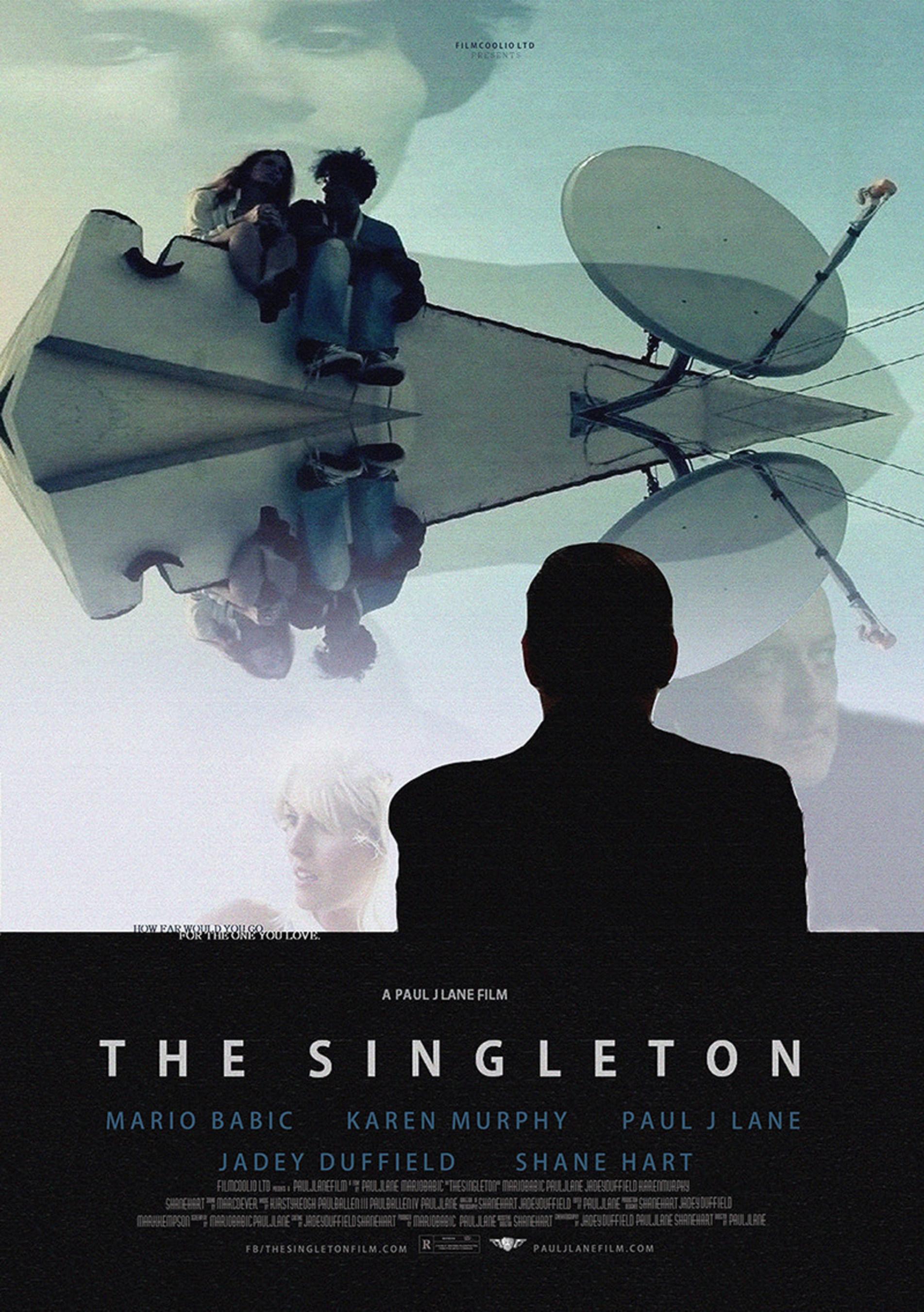 The Film Poster for 'The Singleton' Has Arrived - starring Mario Babic, Karen Murphy, Paul J. Lane, Jadey Duffield and Shane Hart