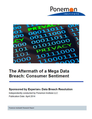 "To access the complimentary report, ""The Aftermath of a Mega Data Breach: Consumer Sentiment,"" visit https://bit.ly/ExperianAftermathStudy. (PRNewsFoto/Experian)"