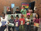 SpringHill Suites Rallies Around Art Education -- Save Art! Program Raises Nearly $100,000 for Under-Resourced Schools Nationwide. Pictured: Students from Northport Elementary in Brooklyn, MN