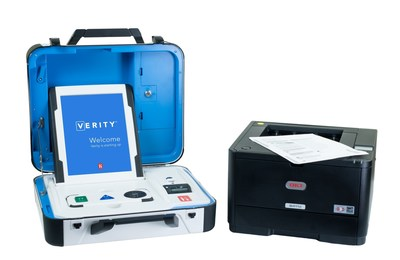 The Verity Touch Writer ballot marking device provides true equality of access to all voters, with adjustable video and audio settings, the ability to use adaptive devices that meet ADA standards and many other voter personalization options.