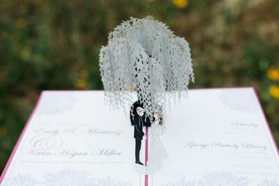 Lovepop's new custom wedding invitations