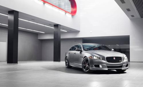 Jaguar Expands R Performance Lineup with Global Debut of XJR at the 2013 New York Auto Show. (PRNewsFoto/Jaguar  ...