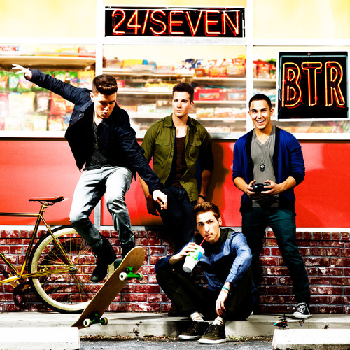 BIG TIME RUSH SET TO RELEASE 24/seven ON JUNE 11.  (PRNewsFoto/Columbia Records)