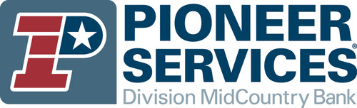 Pioneer Services, a Division of MidCountry Bank.  (PRNewsFoto/Pioneer Services, a Division of MidCountry Bank)