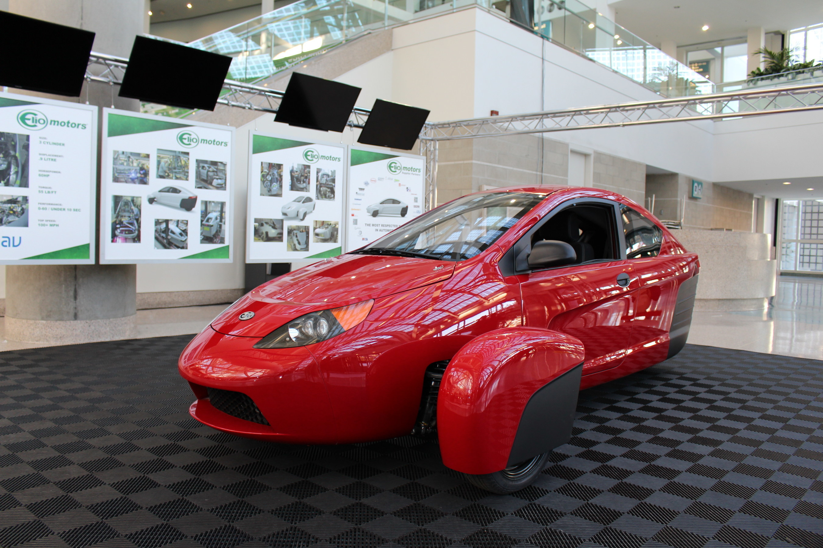Elio Motors' newly unveiled P5