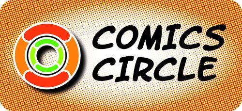 Logo comic circle