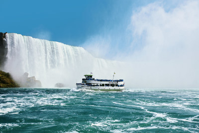 Maid of the Mist welcomed more than 1.4 million guests during the 2015 season.  www.maidofthemist.com