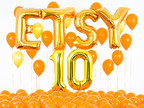 Etsy celebrates the company's 10th anniversary on June 18, 2015. https://www.etsy.com/10