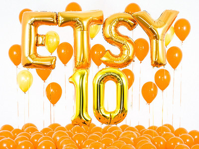 Etsy celebrates the company's 10th anniversary on June 18, 2015. https://www.etsy.com/10