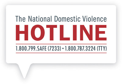 National Domestic Violence Hotline logo -- Operating around the clock, seven days a week, 24/7, confidential and free of cost, the National Domestic Violence Hotline (NDVH) provides lifesaving tools and immediate support to enable victims to find safety and live lives free of abuse.