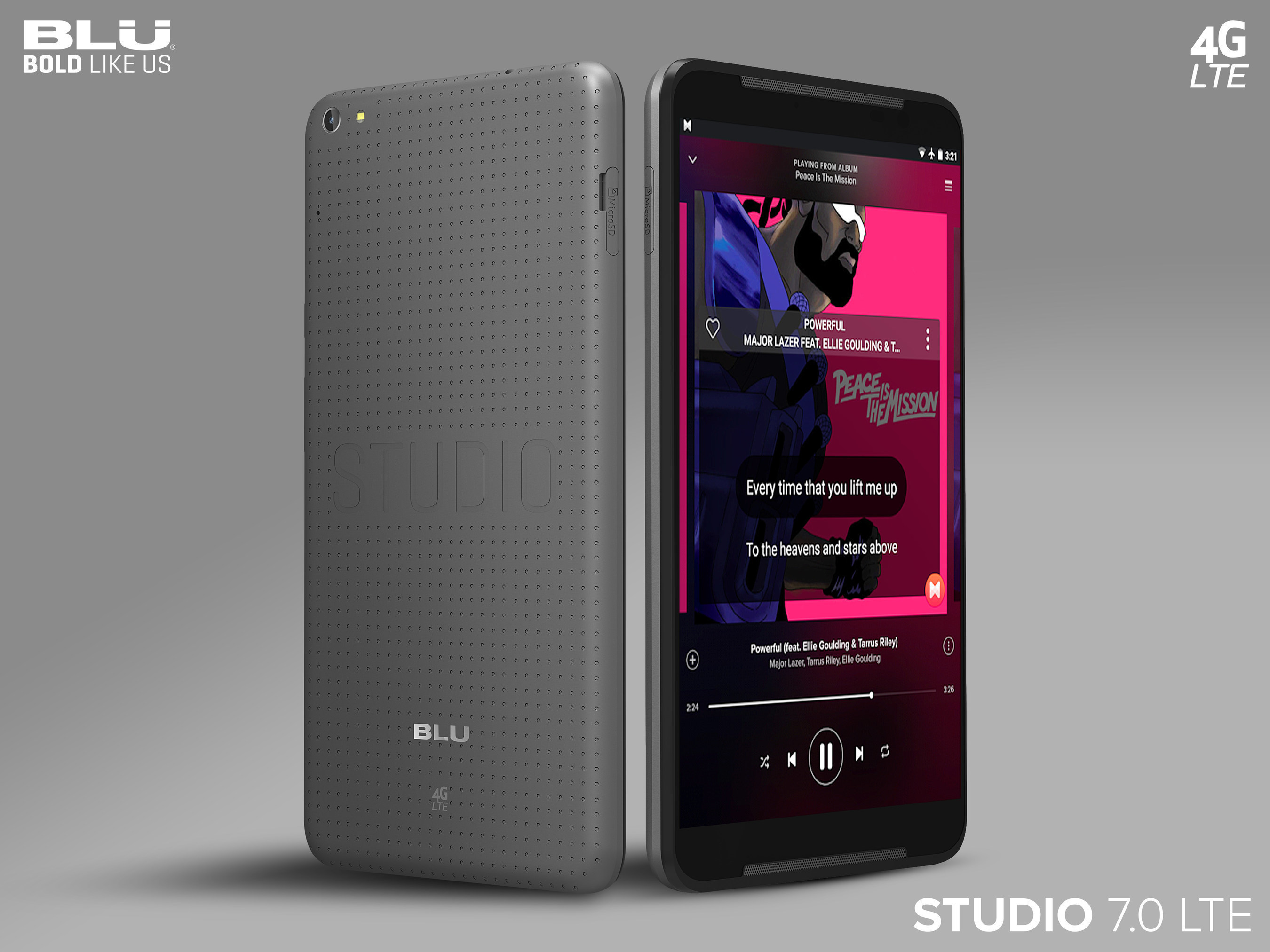 BLU Products Announces Their Latest 7-Inch Phablet, the BLU Studio 7.0 LTE, Making It Easier To Stay Connected