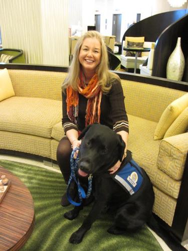 Atlantic Shores Seniors Send Off Beloved Guide Dog at End of Award-Winning, Multi-Generational