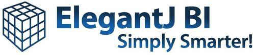 ElegantJ BI logo (PRNewsFoto/Elegant MicroWeb)