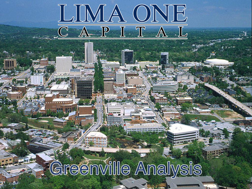 Hard Money Lender Lima One Capital Releases its Analysis of the Greenville Real Estate Market