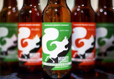 Brewed for the Finish Line: Boston's Mighty Squirrel Launches Hopstonian, a Craft Beer With 4g of