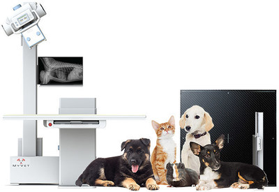 The MyVet table system is a revolutionary Veterinary Elevating DR X-Ray Table System which delivers silent elevation to fulfill comfort and stability. The MyVet table is both cost effective,and designed to improve patient workflow in your veterinary practice.