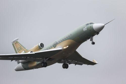 Second Falcon 8X Joins Flight Test Campaign (PRNewsFoto/Dassault Aviation)