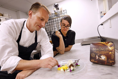 MAGNUM® Ice Cream Celebrates Its Love of Belgian Chocolate and Fashion with Creation of 'America's Most Fashionable Chocolate Dessert'