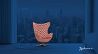 Radisson Blu(R) announced a global design contest inviting participants to customize the iconic Egg(TM) chair, originally created by the legendary Danish architect and designer Arne Jacobsen for the SAS Royal Hotel, Copenhagen.