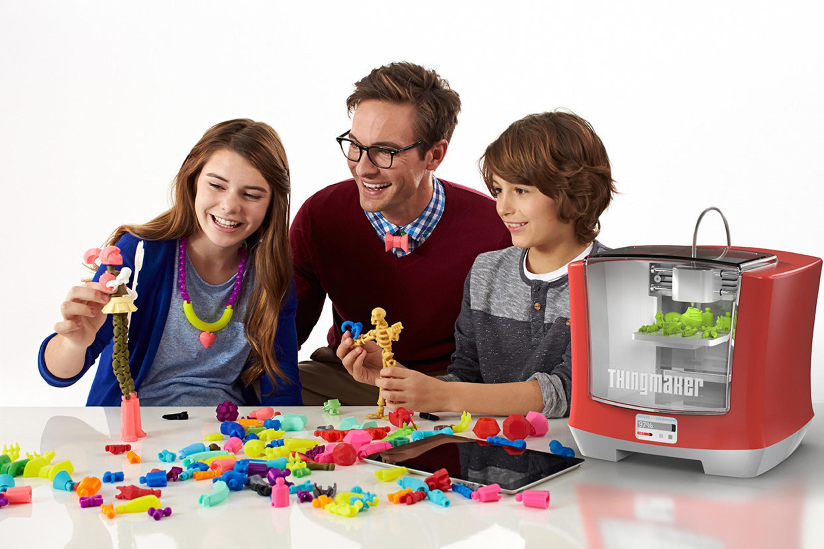 ThingMaker(TM) 3D Printer and ThingMaker Design(TM) App Eco-System