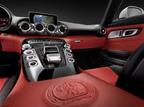 Mercedes-Benz AMG GT Interior.  (PRNewsFoto/Mercedes-Benz USA)