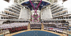 Royal Caribbean International Conducts Delivery Ceremony And Honors Crew Of Harmony Of The Seas