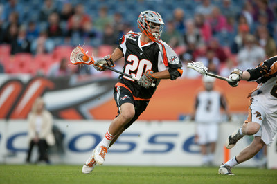 Denver Outlaws in Action at Sports Authority Field at Mile High