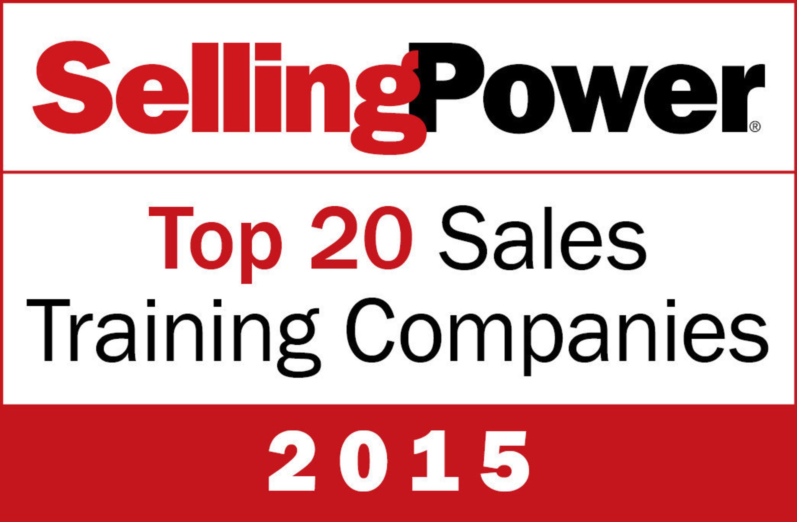 Selling Power Top 20 Sales Training Companies logo