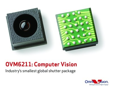 OVM6211 brings computer vision to consumer applications. (PRNewsFoto/OmniVision Technologies Inc.)