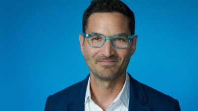 "Guy Raz is the host of NPR's ""How I Built This,"" performing at the Now Hear This podcast festival, Oct. 28-30. Credit: Kara Frame, NPR"