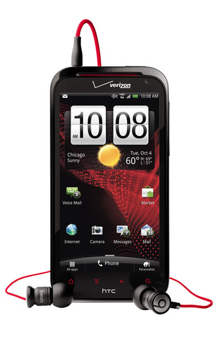 HTC AND VERIZON WIRELESS UNVEIL HTC REZOUND, FIRST SMARTPHONE IN THE U.S. TO FEATURE BEATS AUDIO.  ...