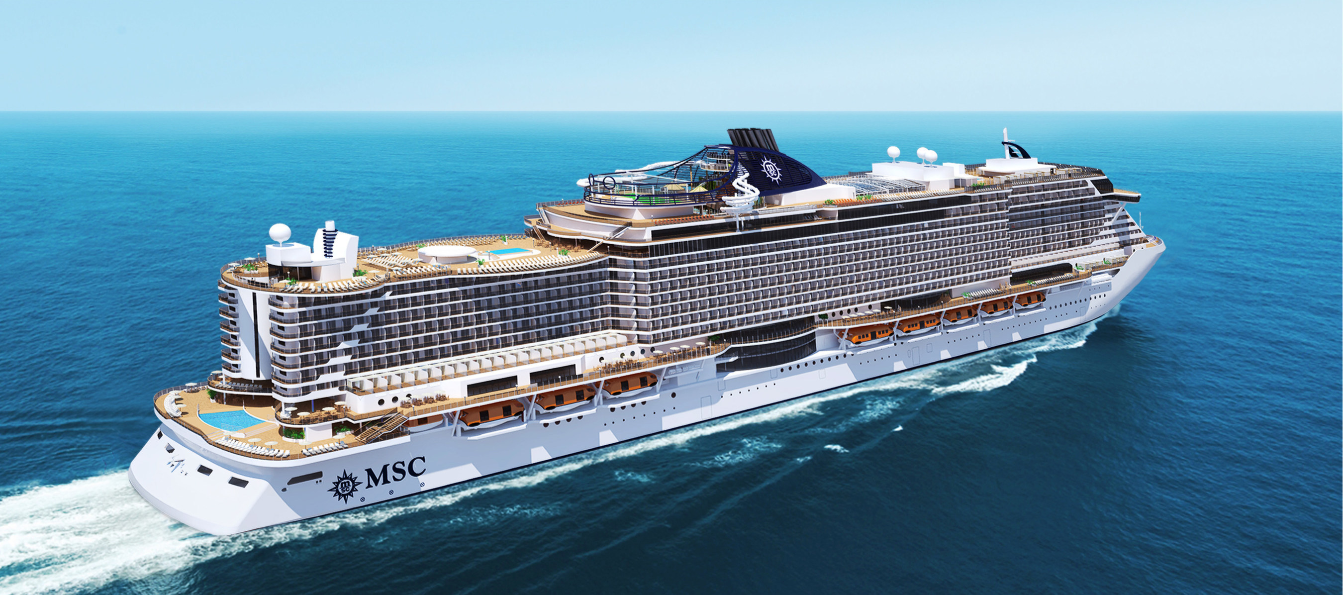 MSC Cruises And Fincantieri Cut The First Steel Of The
