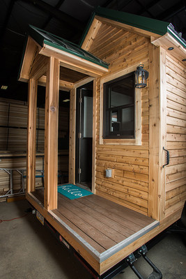 The Roving model is the first tiny home launched in the Tiny Living product line by 84 Lumber. For more information visit 84tinyliving.com.