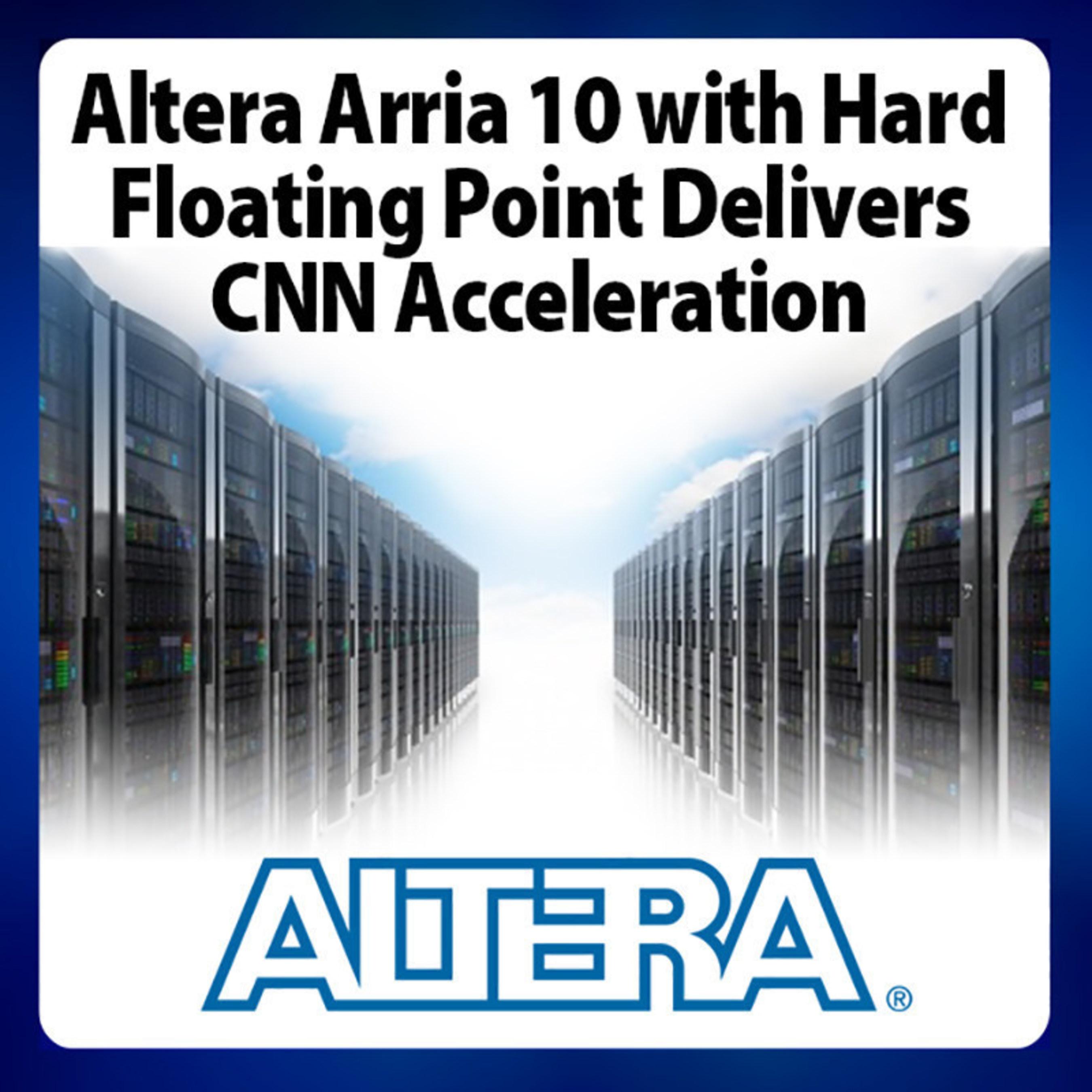 Altera FPGAs Achieve Compelling Performance-per-Watt in