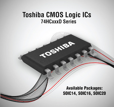 Toshiba has added SOIC packages to its lineup of CMOS Logic ICs.