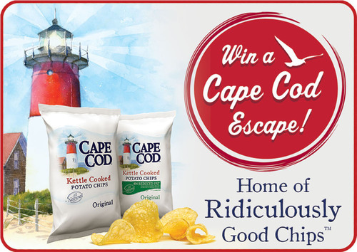 Escape to Cape Cod This Summer Courtesy of Cape Cod Potato Chips.  (PRNewsFoto/Cape Cod Potato Chips)