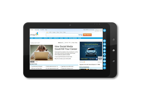 Enabling Next Generation Tablet Computers - Thinix® Releases First Internet Browser Optimized for