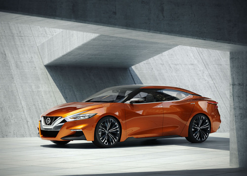 Nissan Sport Sedan Concept.  (PRNewsFoto/Nissan)