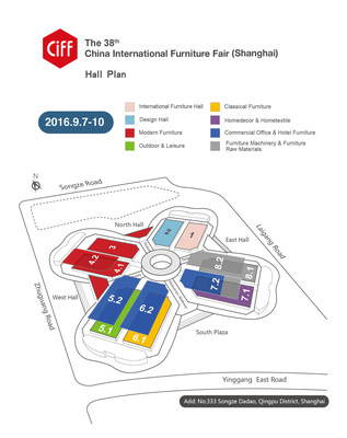 The China International Furniture Fair (CIFF) will open the 38th CIFF (Shanghai) on September 7 at the National Exhibition and Convention Center (NECC) in Hongqiao, Shanghai.