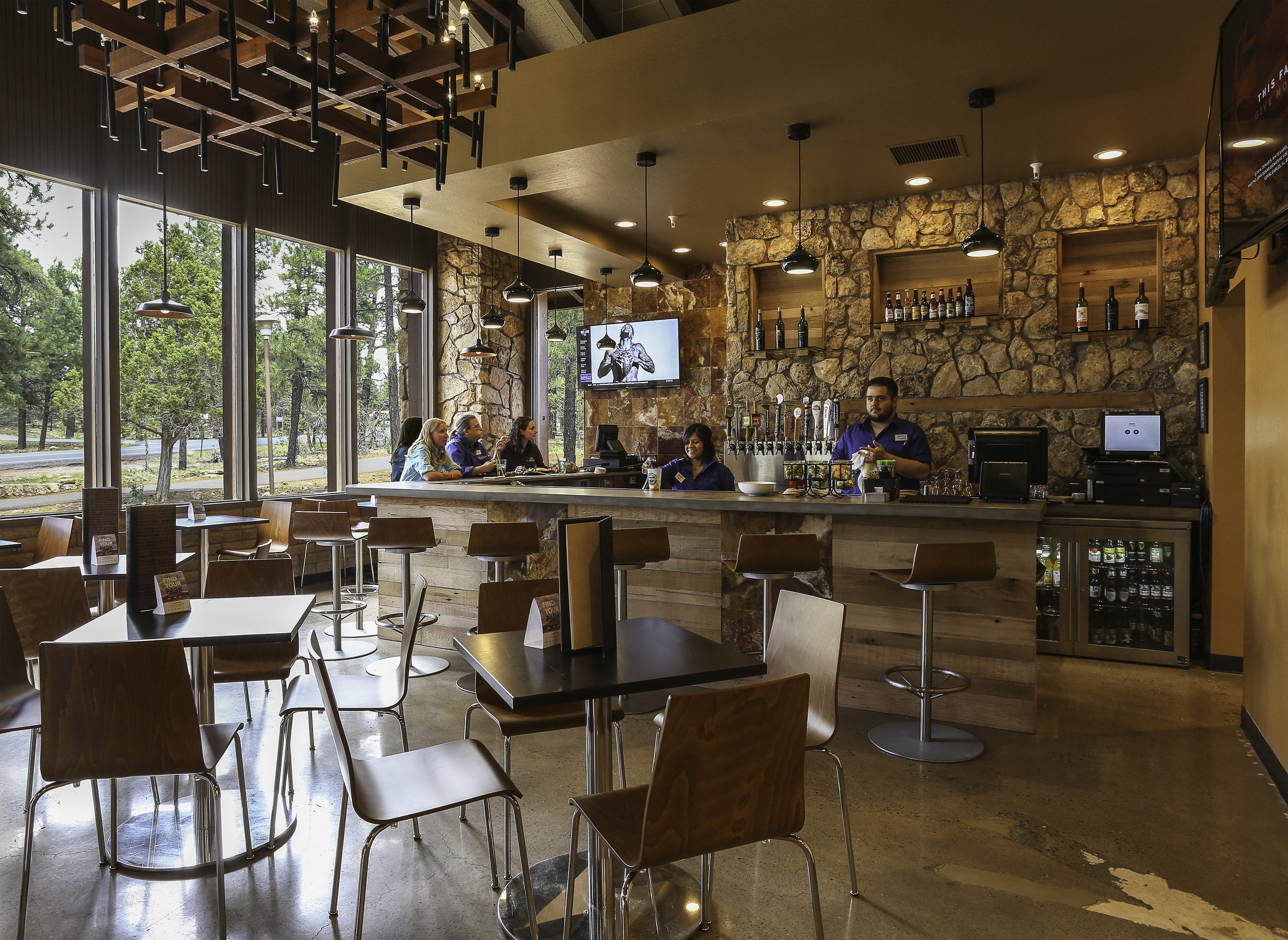 Yavapai Tavern has been transformed into a full-service bar, featuring cocktails with locally-sourced ingredients, as well as beers and wines from the region.