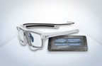 SMI Eye Tracking Glasses 2 Wireless and the lightweight smart recorder with mobile connectivity. (PRNewsFoto/SensoMotoric Instruments GmbH)