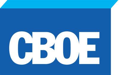 Chicago Board Options Exchange (CBOE) logo. (PRNewsFoto/CBOE Holdings, Inc.)