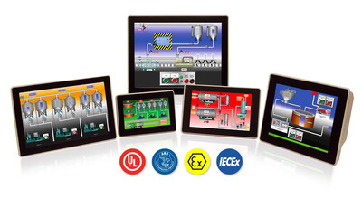 Red Lion's Award Winning Rugged Graphite HMIs