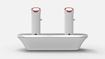 The oPhone, the first delivery system designed for scent-based mobile messaging, available for pre-sale via a crowd-funding campaign on Indiegogo from June 17. (PRNewsFoto/Vapor Communications)