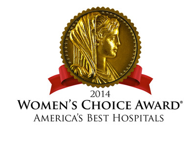 America's Best Hospitals for Patient Experience (PRNewsFoto/Women's Choice Award)