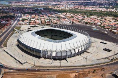 Castelao stadium roofing completed (PRNewsFoto/PALRAM)