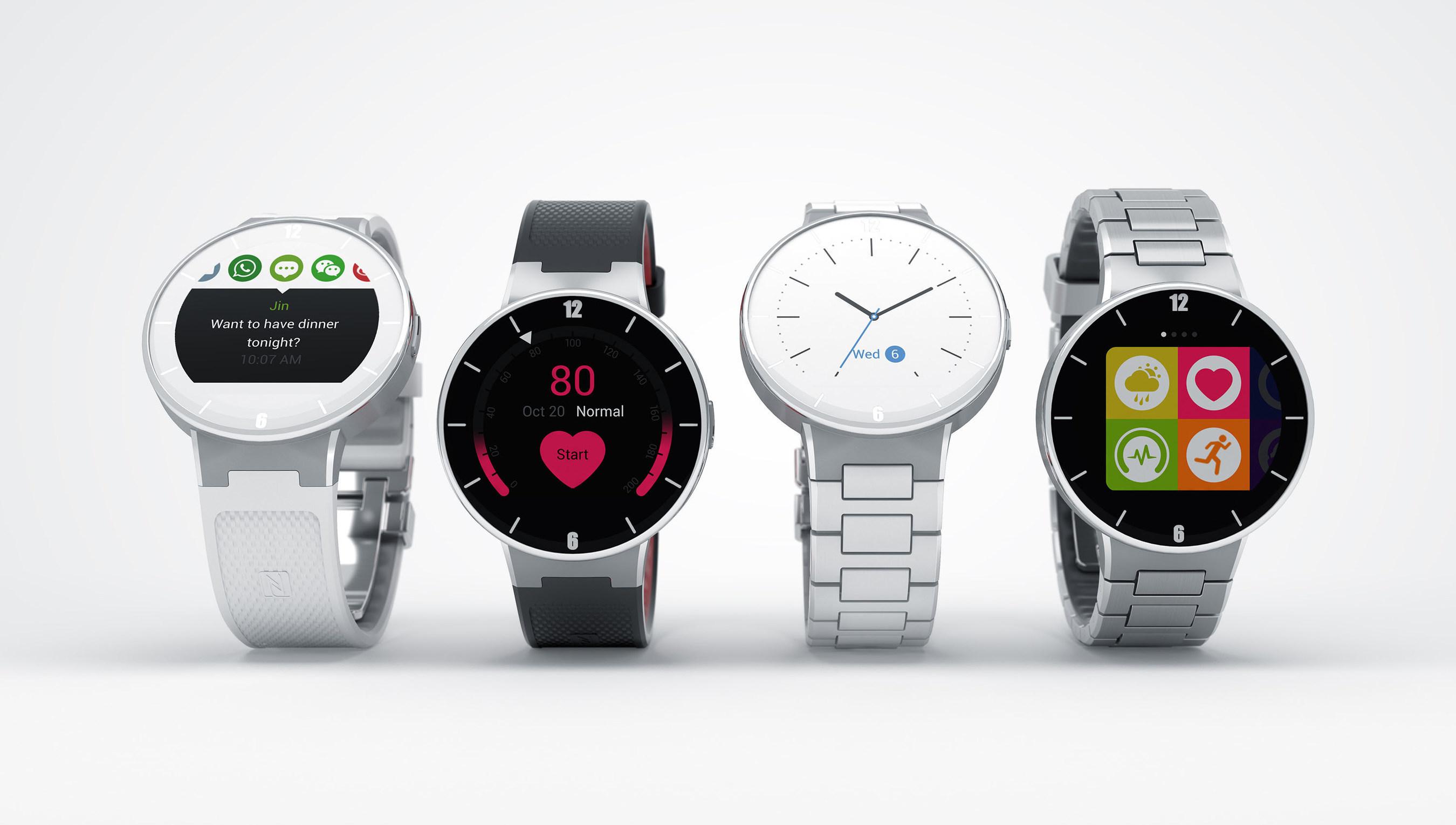 WATCH: ALCATEL ONETOUCH представляет полную линейку умных часов высококлассного дизайна, доступных