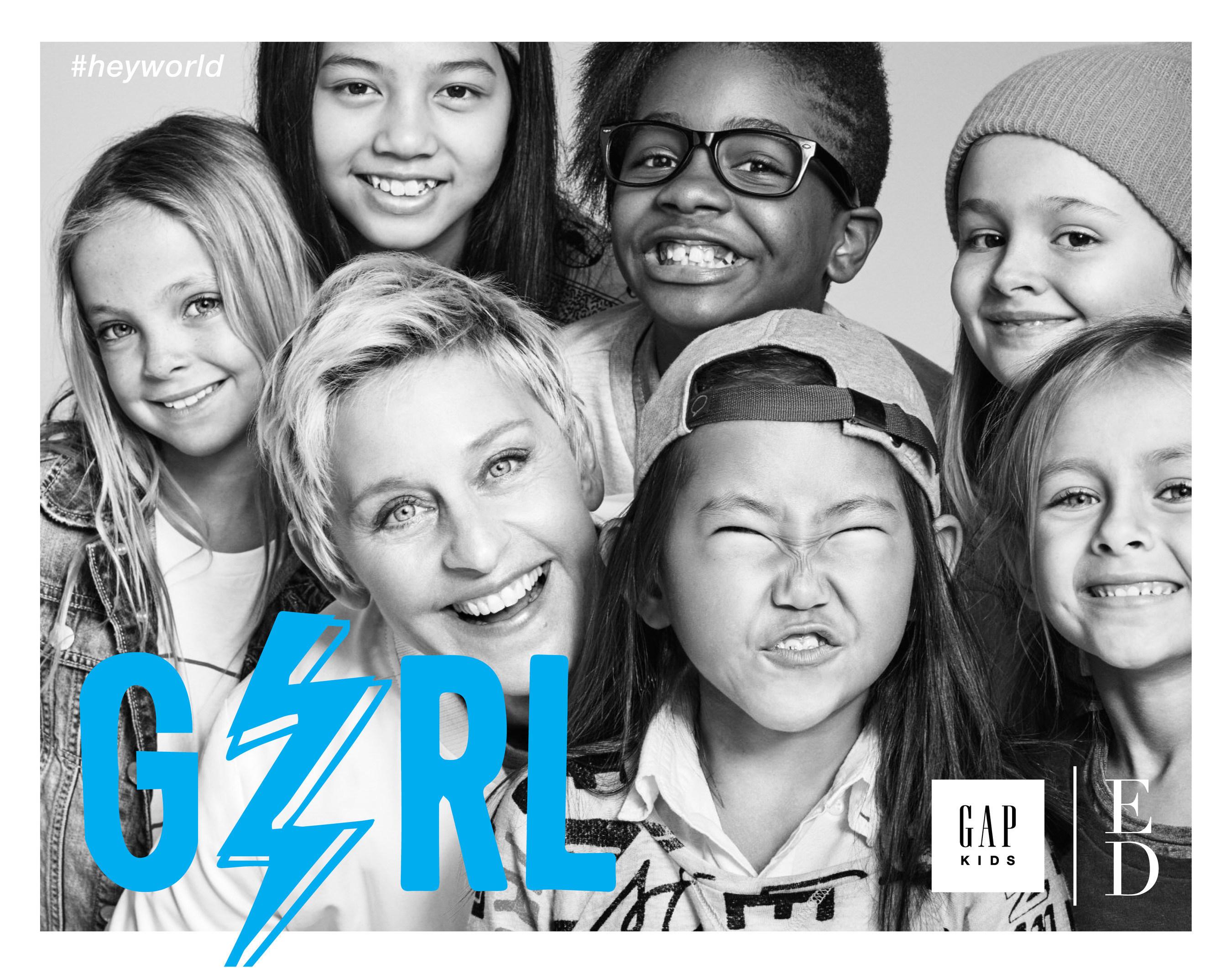 GapKids x ED Campaign Image