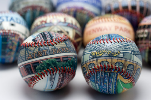 Unforgettaballs!® Releases New Painted Baseball Design to Celebrate Opening Day and Father's Day